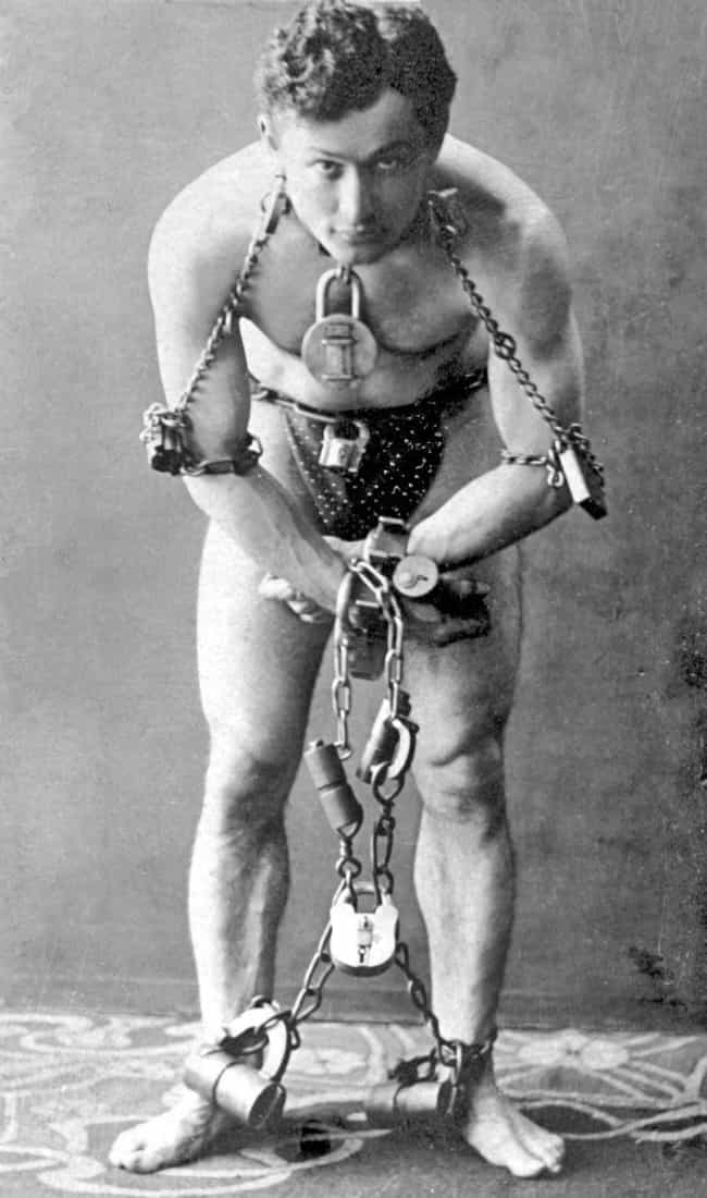 Houdini's Training As A ... is listed (or ranked) 4 on the list A History Of Harry Houdini's Lifelong Battle To Debunk Mediums