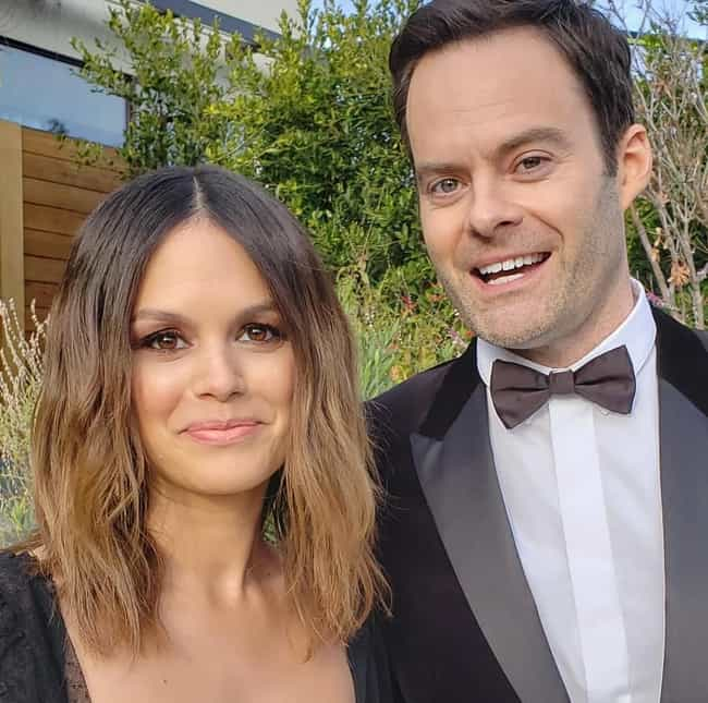 Bill Hader & Rachel ... is listed (or ranked) 1 on the list The Best New Celebrity Couples Of 2020