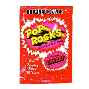 Cherry Pop Rocks is listed (or ranked) 2 on the list The Best Tasting Cherry Flavored Things
