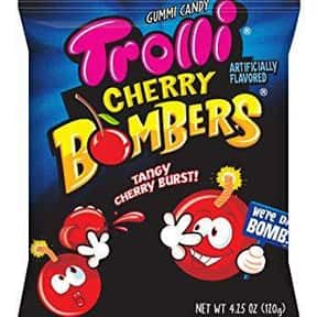 Trolli Cherry Bombers is listed (or ranked) 3 on the list The Best Tasting Cherry Flavored Things