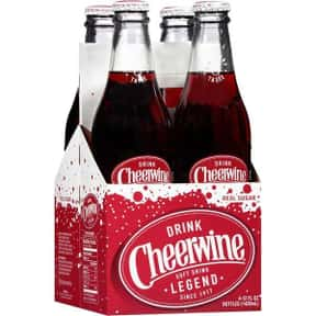 Cheerwine Cherry Soft Drink is listed (or ranked) 17 on the list The Best Tasting Cherry Flavored Things