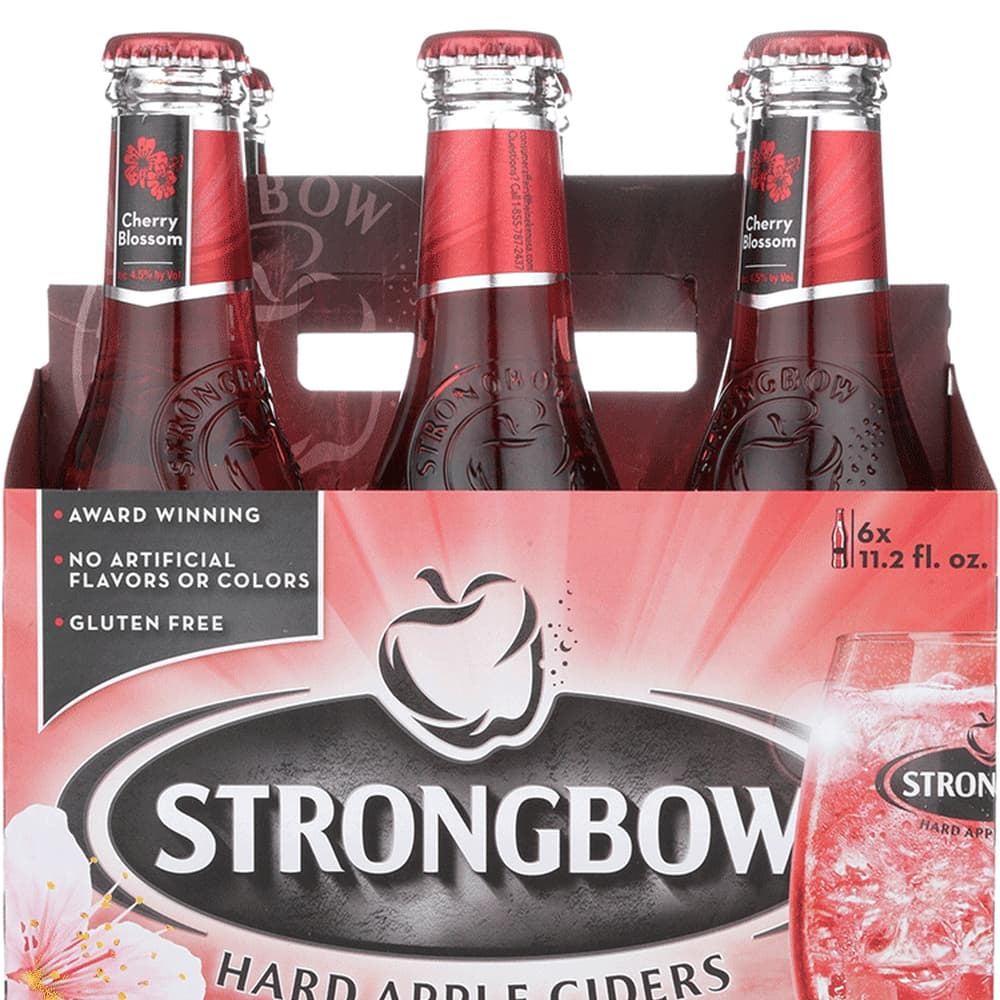 Strongbow Cherry Blossom on Random Best Tasting Cherry Flavored Things