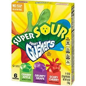 Scary Cherry Gushers is listed (or ranked) 25 on the list The Best Tasting Cherry Flavored Things