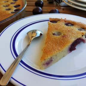 Clafoutis is listed (or ranked) 18 on the list The Best Tasting Cherry Flavored Things