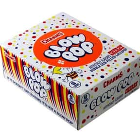 Cherry Blow Pops is listed (or ranked) 13 on the list The Best Tasting Cherry Flavored Things