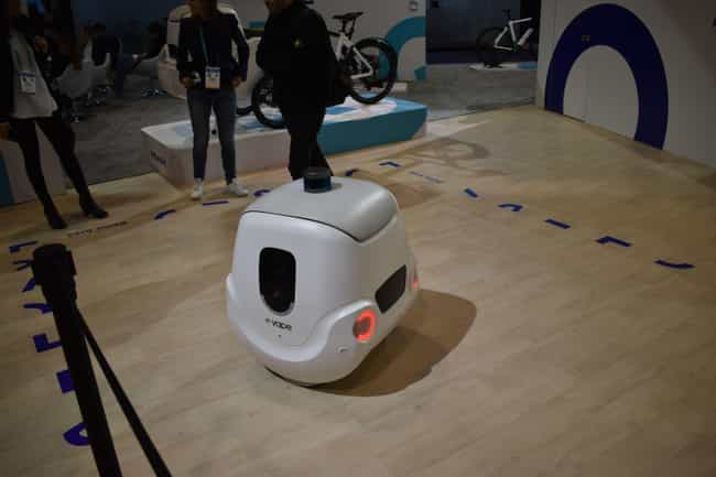 Yape is listed (or ranked) 1 on the list 10 Coolest Robots We Ran Into at CES 2020