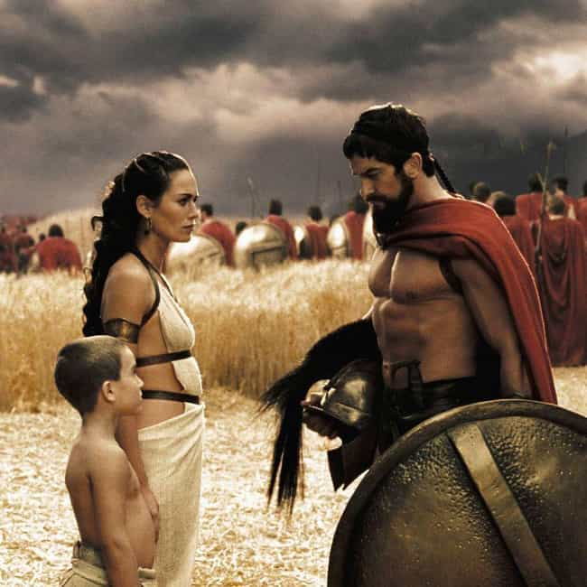 On It is listed (or ranked) 3 on the list This Is Sparta and These Are The Best Quotes From '300'