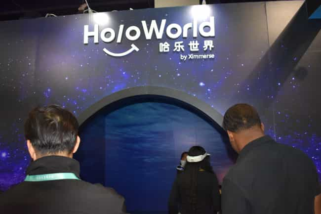 """Holo World"" f... is listed (or ranked) 1 on the list This VR And AR Tech Stole The Show At CES 2020"