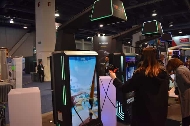 Leo - the VR Arcade is listed (or ranked) 2 on the list This VR And AR Tech Stole The Show At CES 2020
