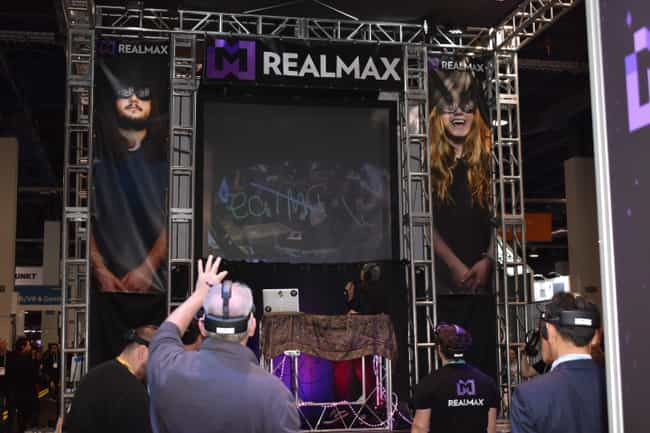 RealMax is listed (or ranked) 3 on the list This VR And AR Tech Stole The Show At CES 2020
