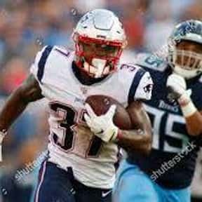 Damien Harris is listed (or ranked) 25 on the list The Best New England Patriots Running Backs of All Time