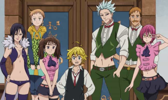 The Seven Deadly Sins - ... is listed (or ranked) 3 on the list The 19 Most Powerful Anime Teams Of All Time
