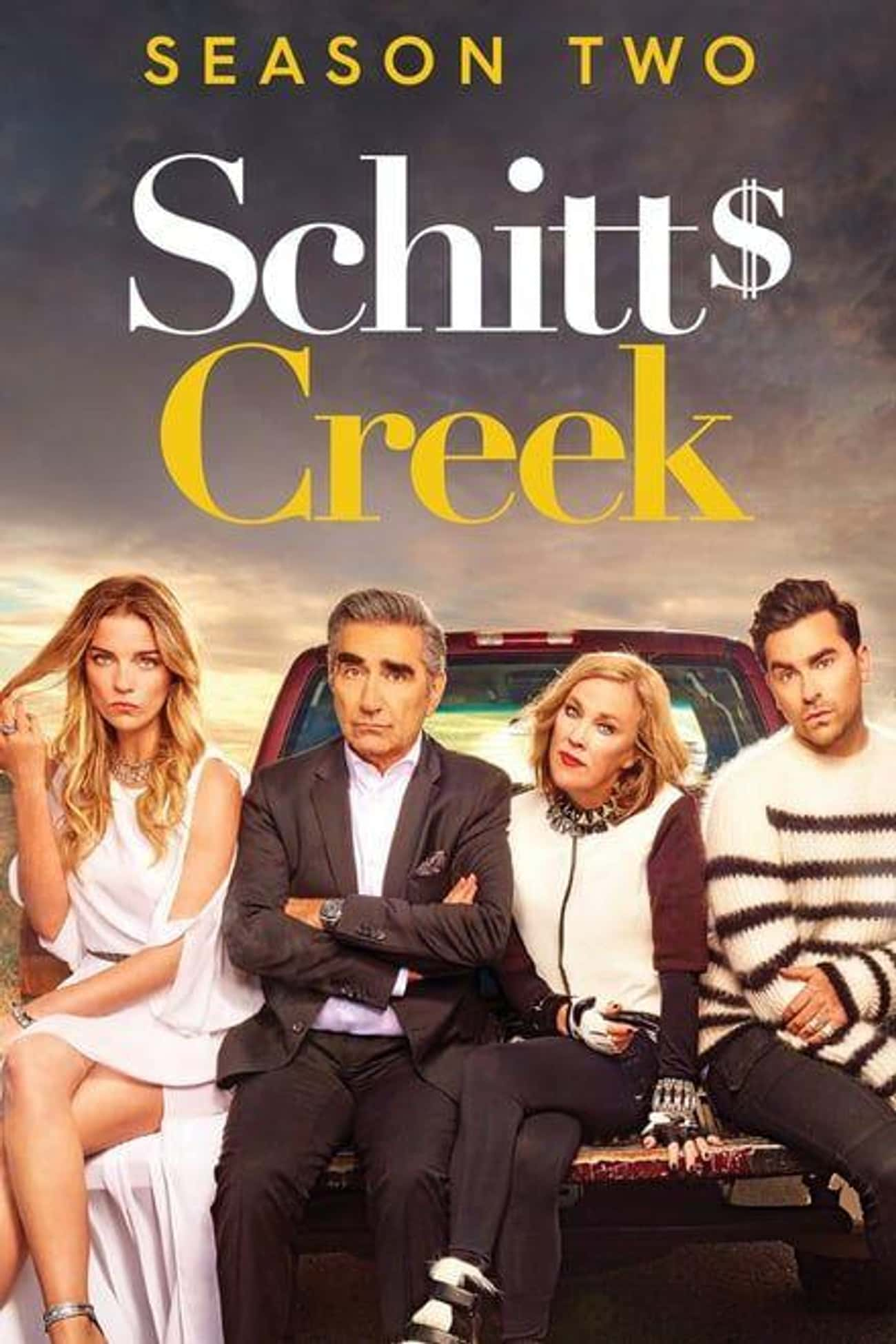 Schitt's Creek - Season 2 is listed (or ranked) 1 on the list Ranking the Best Seasons Of 'Schitt's Creek'