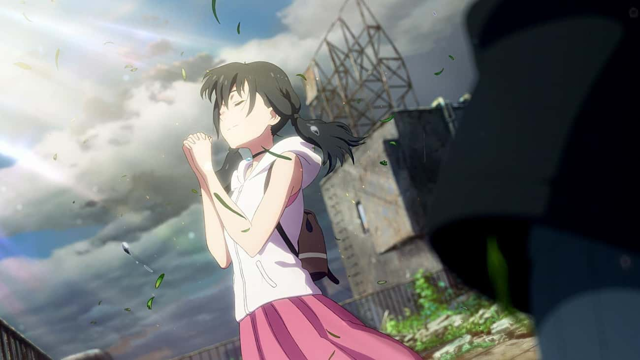 Hina Amano - 'Weathering with  is listed (or ranked) 2 on the list 13 Anime Characters Who Can Manipulate The Weather