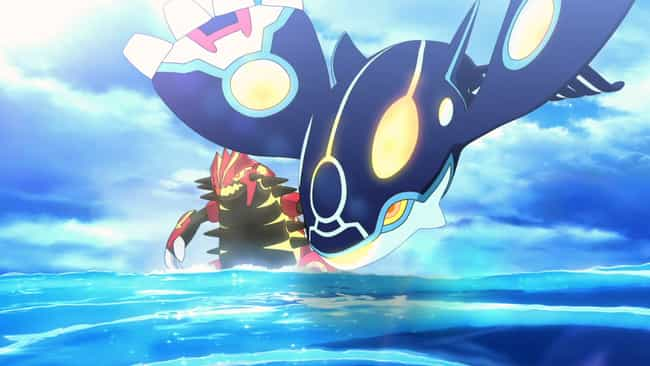 Groudon, Kyogre & Ra... is listed (or ranked) 4 on the list 13 Anime Characters Who Can Manipulate The Weather