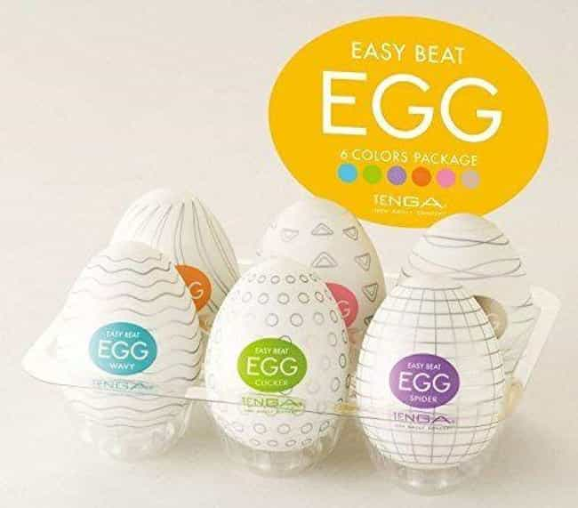 Tenga Easy Beat Eggs is listed (or ranked) 2 on the list The Best Adult Toys For Men