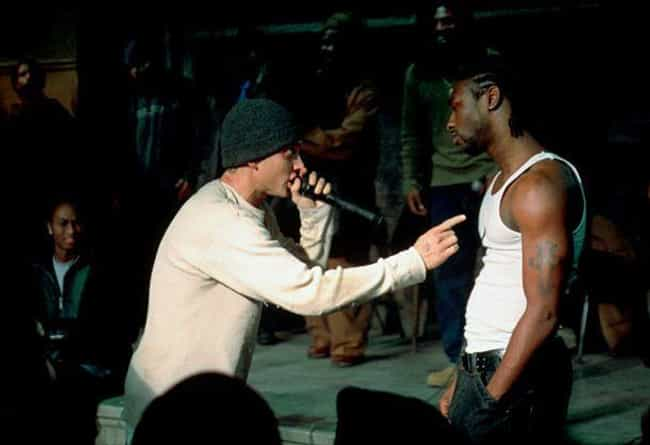 An Extra Won A Rap Battl... is listed (or ranked) 3 on the list Behind The Scenes Of 'Lose Yourself' And Eminem's Starring Role In '8 Mile'