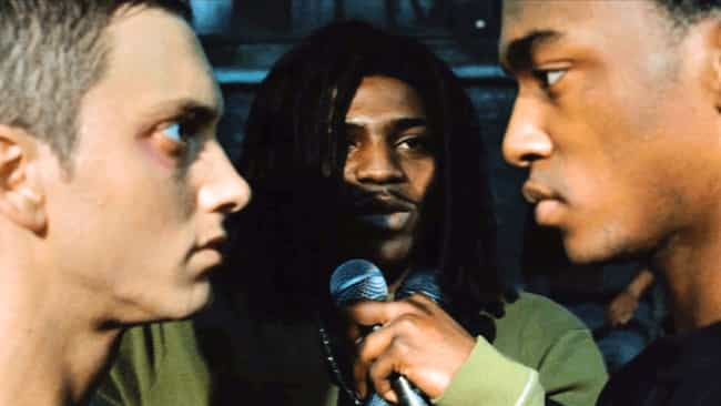It's Anthony Mackie's Fi... is listed (or ranked) 2 on the list Behind The Scenes Of 'Lose Yourself' And Eminem's Starring Role In '8 Mile'