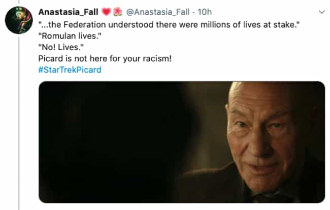 Picard For All is listed (or ranked) 2 on the list 22 Funny And Feel-Good Memes Reacting To The Premiere Of 'Star Trek: Picard'