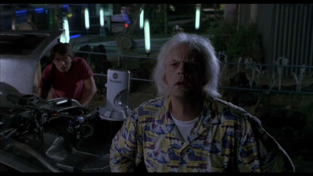 Time-Traveling Is Just Too Dan is listed (or ranked) 2 on the list See The Future With These 'Back to the Future Part II' Quotes