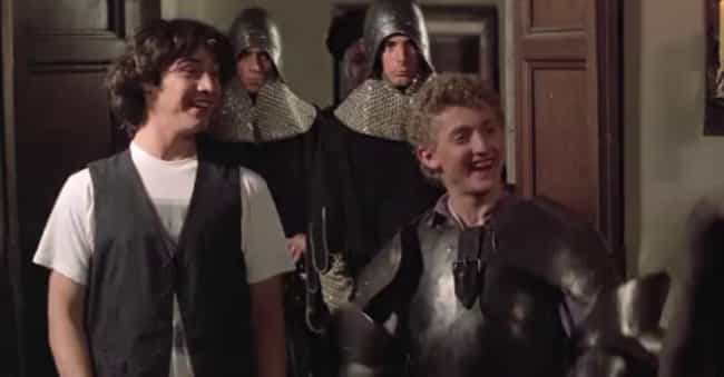 Iron Maiden is listed (or ranked) 3 on the list The Funniest 'Bill & Ted's Excellent Adventure' Quotes
