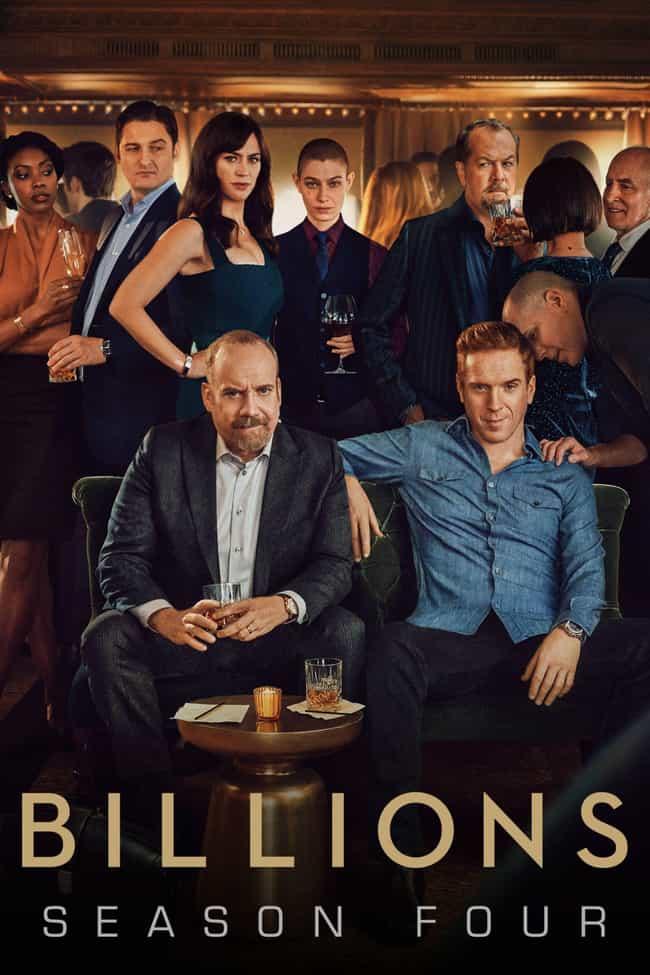 Billions - Season 4 is listed (or ranked) 4 on the list The Best Seasons of 'Billions'