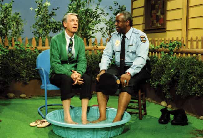 He Invited Franço... is listed (or ranked) 2 on the list Heartwarming Behind-The-Scenes Stories About Mister Rogers