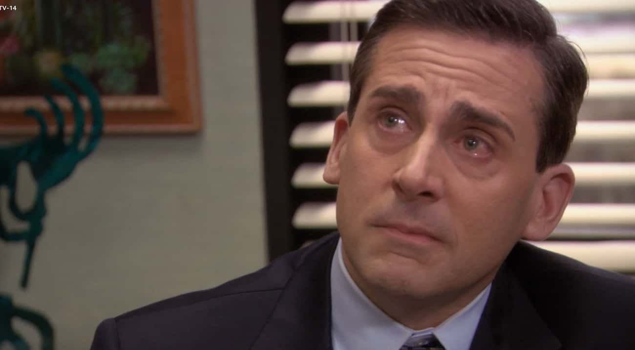 Michael Leaves Dunder Mifflin  is listed (or ranked) 1 on the list The Saddest Moments On 'The Office'