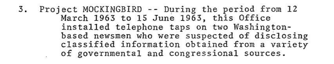 The CIA Allegedly Used Operati is listed (or ranked) 4 on the list The Creepiest Declassified Documents Available To The Public