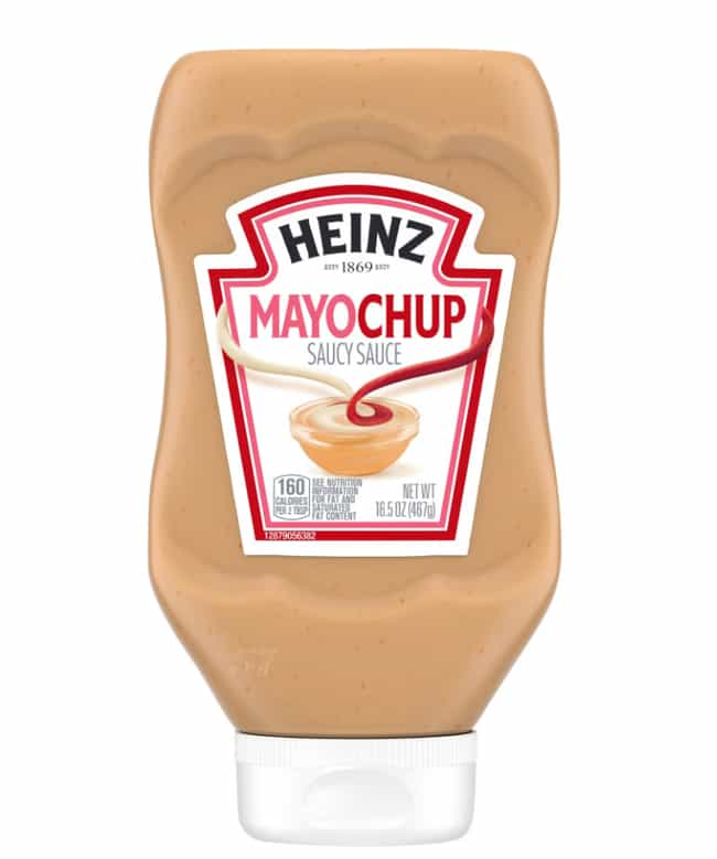 Heinz Mayochup, Mayomust... is listed (or ranked) 4 on the list Food Products That Are A Little Too Convenient
