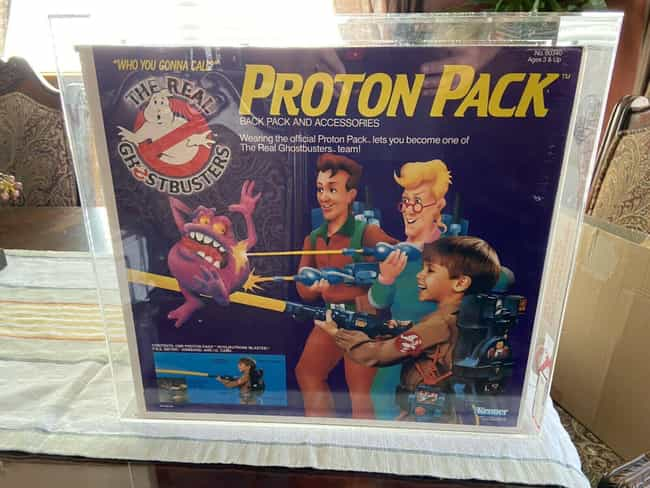 Kenner Proton Pack is listed (or ranked) 2 on the list Vintage Ghostbusters Toys That Are Worth A Scary Amount Now