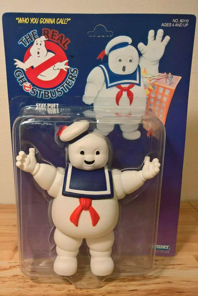 Stay Puft Marshmallow Ma... is listed (or ranked) 3 on the list Vintage Ghostbusters Toys That Are Worth A Scary Amount Now
