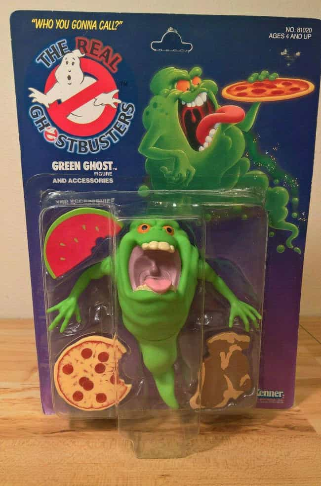Green Ghost Slimer 1st E... is listed (or ranked) 4 on the list Vintage Ghostbusters Toys That Are Worth A Scary Amount Now