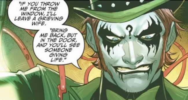 The Missing Link is listed (or ranked) 3 on the list The Best Riddles Posed By The Riddler In Batman Comics
