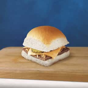 Cheese Slider is listed (or ranked) 1 on the list The Best Things To Eat At White Castle