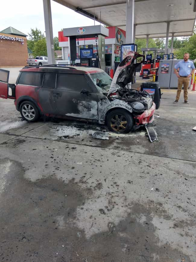 """""""Picked My Car Up F... is listed (or ranked) 1 on the list 25 Unfortunate Car Owners Who Are Having A Way Worse Day Than Us"""