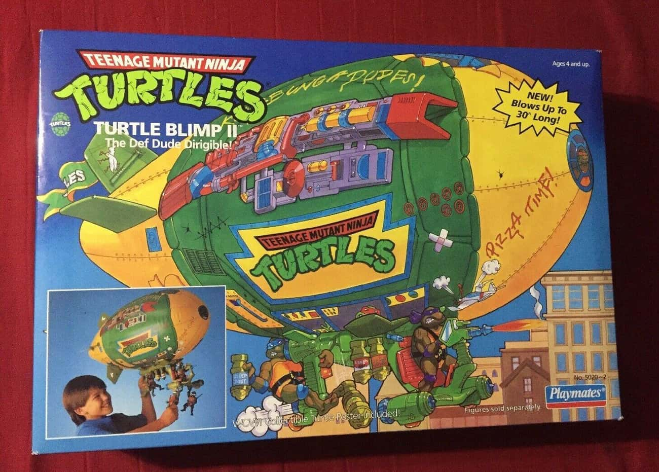 Turtle Blimp II Playset is listed (or ranked) 1 on the list It's Crazy How Much These Teenage Mutant Ninja Turtles Toys Are Worth Today