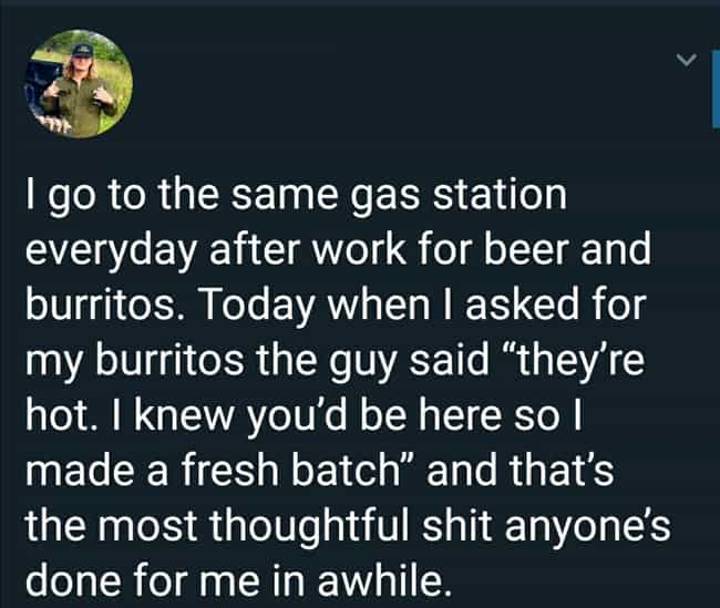 When The Gas Station Wor... is listed (or ranked) 1 on the list 33 Relatable Tweets From