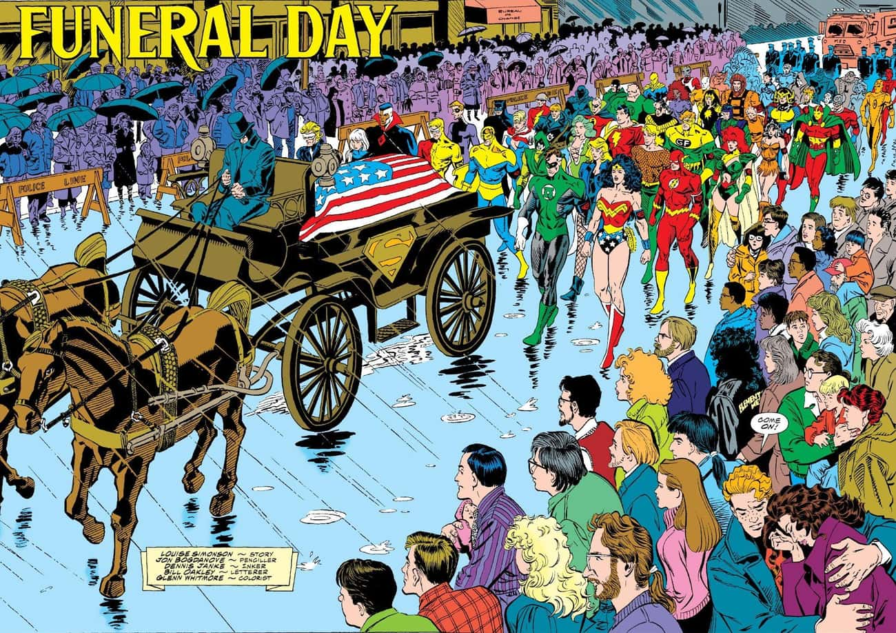 'The Death of Superman' Was The Last Big Comic Event Before The Market Tanked