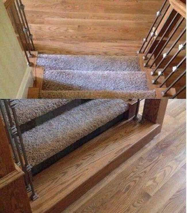 That's A Trippy Staircas... is listed (or ranked) 4 on the list 17 Photos That Prove Evil Geniuses Are All Around Us