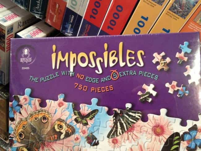 Someone Hates Puzzles is listed (or ranked) 3 on the list 17 Photos That Prove Evil Geniuses Are All Around Us
