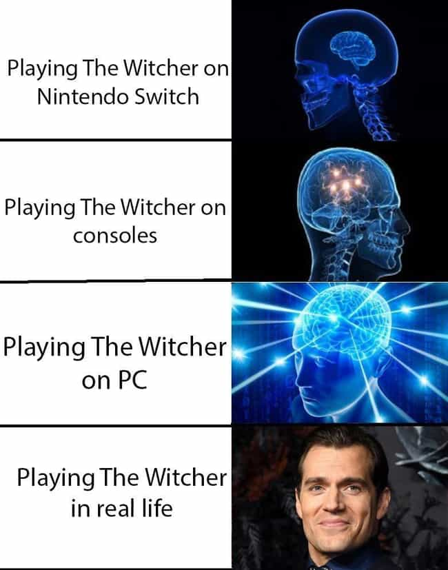 Higher Intelligence is listed (or ranked) 3 on the list 25 Memes That Are Hilarious If You've Played Too Much Of The Witcher