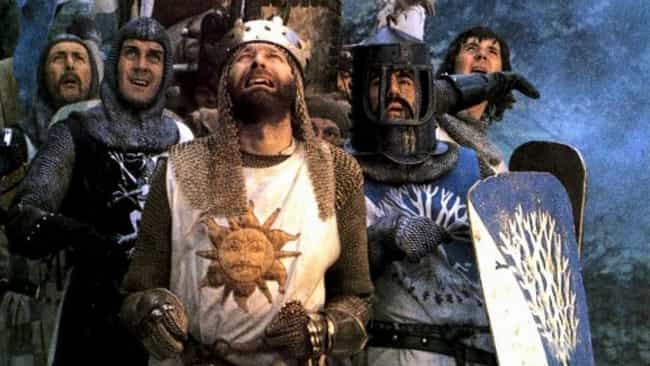 'It Was A Miserable Expe... is listed (or ranked) 1 on the list 'Monty Python and the Holy Grail' Was An On-Set Nightmare That Everyone Hated Filming