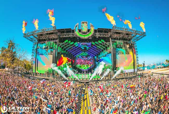 Ultra Music Festival is listed (or ranked) 2 on the list The Best EDM Festivals In The US