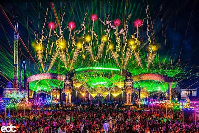 Electric Daisy Carnival ... is listed (or ranked) 1 on the list The Best EDM Festivals In The US