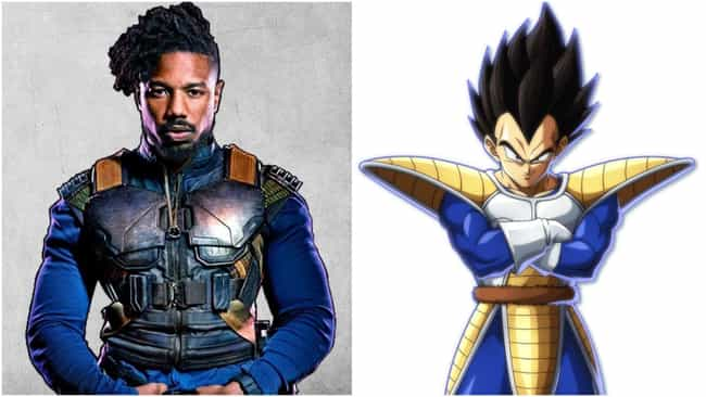 He's Encouraged Outfit C... is listed (or ranked) 3 on the list Michael B. Jordan Might Be Hollywood's Biggest Anime Fan