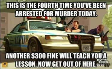 We Will Meet Again is listed (or ranked) 2 on the list 25 Memes You'll Only Relate To If You Grew Up Playing Grand Theft Auto