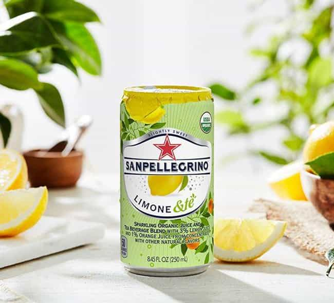 LIMONE &TÈ is listed (or ranked) 4 on the list The Best San Pellegrino Flavors