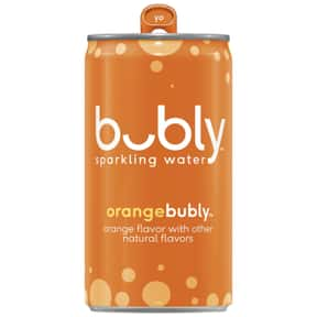 Orange is listed (or ranked) 10 on the list The Best Bubly Sparkling Water Flavors