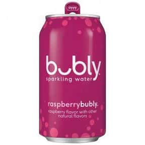 Raspberry is listed (or ranked) 8 on the list The Best Bubly Sparkling Water Flavors